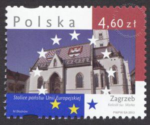 Stolice Państw Unii Europejskiej - znaczek nr 4491
