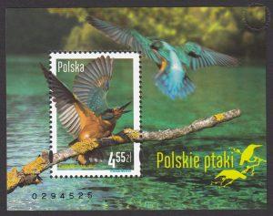 Polskie ptaki - Blok 171