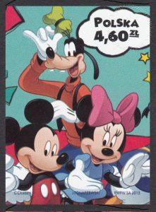 Magiczny świat Disneya - znaczek nr 4458A