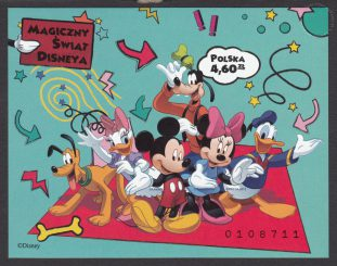 Magiczny świat Disneya - Blok 172A