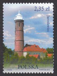 Latarnie morskie - znaczek nr 4460