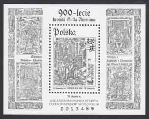 900-lecie kroniki Galla Anonima - Blok 173C