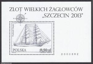 Zlot Wielkich Żaglowców Szczecin 2013 - Blok 175C