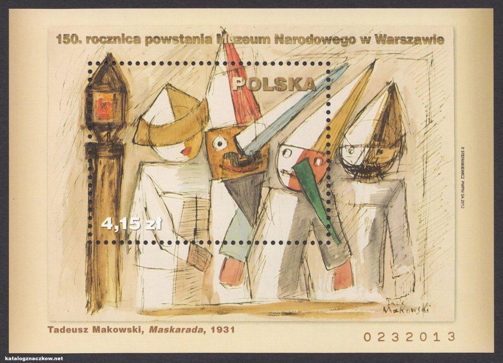 150 rocznica powstania Muzeum Narodowego w Warszawie - Blok 168