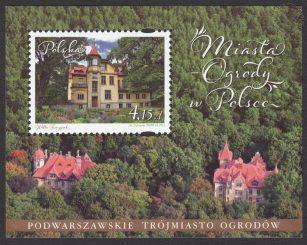 Miasta - Ogrody w Polsce - Blok 170