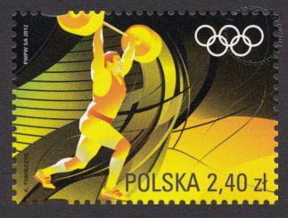 Igrzyska XXX Olimpiady Londyn 2012 - znaczek nr 4426