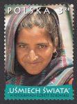 Uśmiech świata w fotografiach Elżbiety Dzikowskiej - znaczek nr 4368