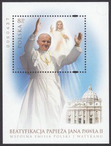Beatyfikacja papieża Jana Pawła II - Blok 160