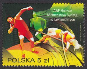 IAAZF Halowe Mistrzostwa Świata w Lekkoatletyce - znaczek nr 4511