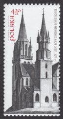 650 rocznica konsekracji Katedry Wawelskiej - znaczek nr 4514
