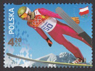 Polscy Złoci Medaliści - znaczek nr 4521