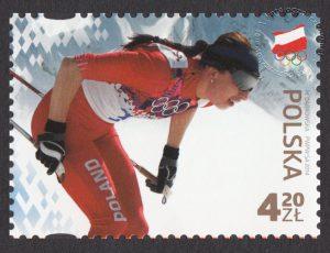 Polscy Złoci Medaliści - znaczek nr 4522
