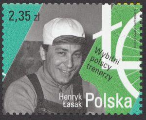 Wybitni polscy trenerzy - znaczek nr 4534