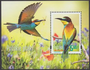 Polskie ptaki - Blok 182