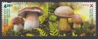 Grzyby w polskich lasach - znaczek nr 4548
