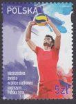 Mistrzostwa świata w piłce siatkowej mężczyzn Polska 2014 - znaczek nr 4552