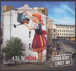 Sztuka ulicy - Street Art. - Blok 185