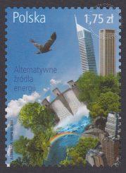 Alternatywne źródła energii - znaczek nr 4557