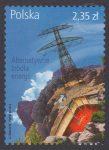 Alternatywne źródła energii - znaczek nr 4558
