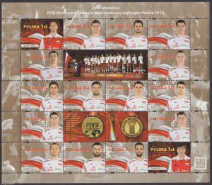Złoci Medaliści FIVB Mistrzostw świata w piłce siatkowej mężczyzn Polska 2014 - ark. 4575-4590