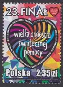 23 Finał Wielkiej Orkiestry Świątecznej Pomocy - znaczek nr 4600