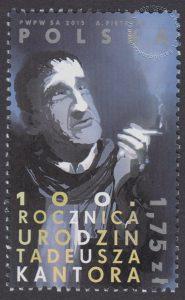 100 rocznica urodzin Tadeusza Kantora - znaczek nr 4608