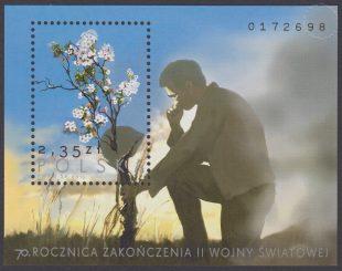 70 rocznica zakończenie II wojny światowej - Blok 188