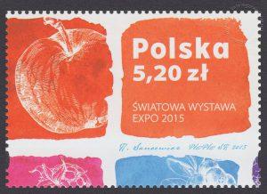 Światowa Wystawa EXPO 2015 - znaczek nr 4614