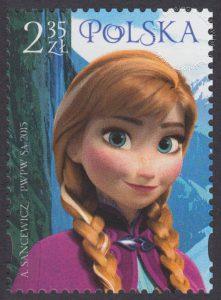 Magiczny Świat Disneya - znaczek nr 4617