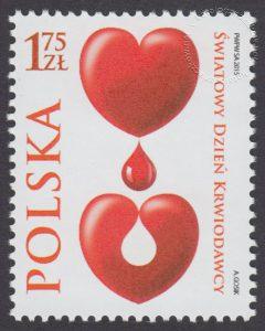 Światowy Dzień Krwiodawcy - znaczek nr 4618