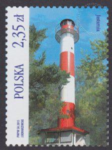 Latarnie morskie - znaczek nr 4622