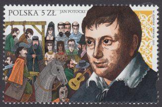 Jan Potocki - znaczek nr 4624