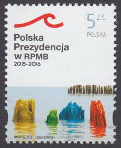 Polska Prezydencja w Radzie Państw Morza Bałtyckiego - znaczek nr 4626