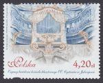 Zabytkowe organy w Polsce - znaczek nr 4628