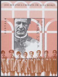 200 rocznica urodzin św. Jana Bosko - Blok 192