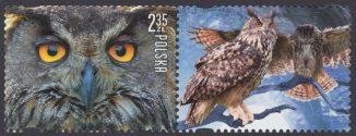 Polskie ptaki - znaczek nr 4645