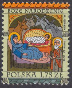 Boże Narodzenie - znaczek nr 4652