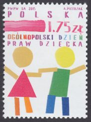 Ogólnopolski Dzień Praw Dziecka - znaczek nr 4656