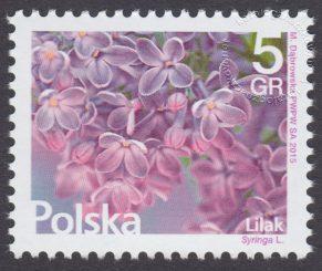 Kwiaty i owoce - znaczek nr 4660