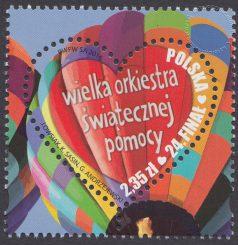 24 Finał Wielkiej Orkiestry Świątecznej Pomocy - znaczek nr 4662
