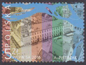 Wrocław Europejska Stolica Kultury 2016 - znaczek nr 4665