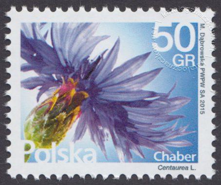 Kwiaty i owoce - znaczek nr 4666