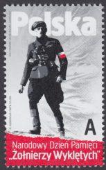 Narodowy Dzień Pamięci Żołnierzy Wyklętych - znaczek nr 4669