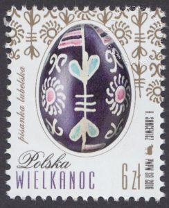 Wielkanoc - znaczek nr 4672