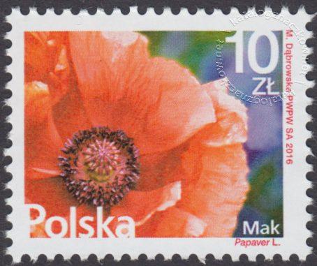 Kwiaty i owoce - znaczek nr 4680