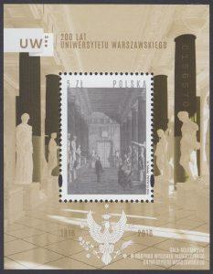 200 lat Uniwersytetu Warszawskiego - Blok 197