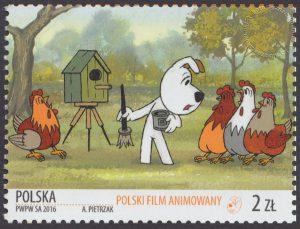 Polski film animowany - znaczek nr 4685
