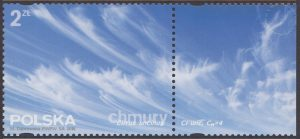 Chmury - znaczek nr 4691