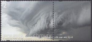 Chmury - znaczek nr 4692