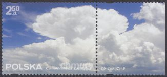 Chmury - znaczek nr 4693
